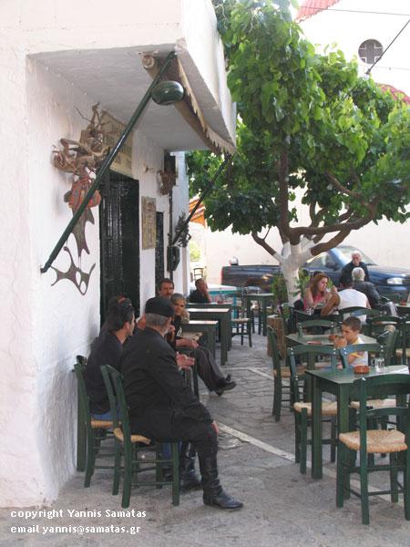 Kafenio in Anogia