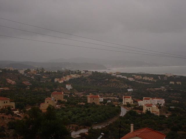 Looking over Souda Bay