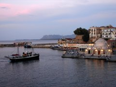 Romantic Chania Harbour