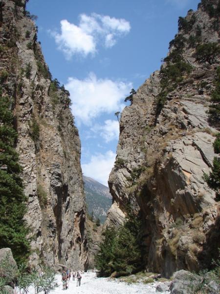 Samaria Gorge Classic View