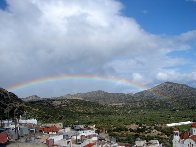 Rainbow over Kritsa