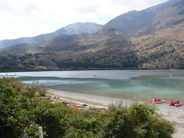 Kournas freshwater lake