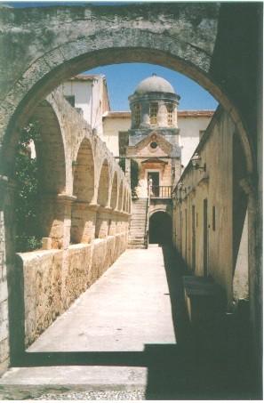 Aghia Triada Monastery near Airport Xania