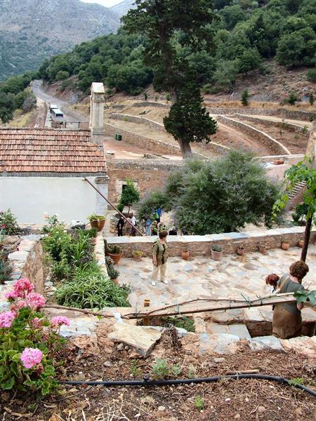 Grounds of Timios Stavros Monastery