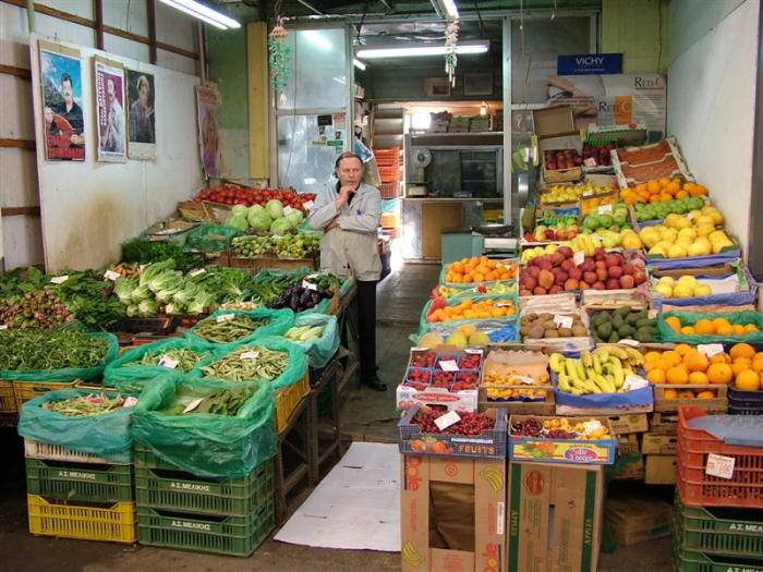 Market in Xania