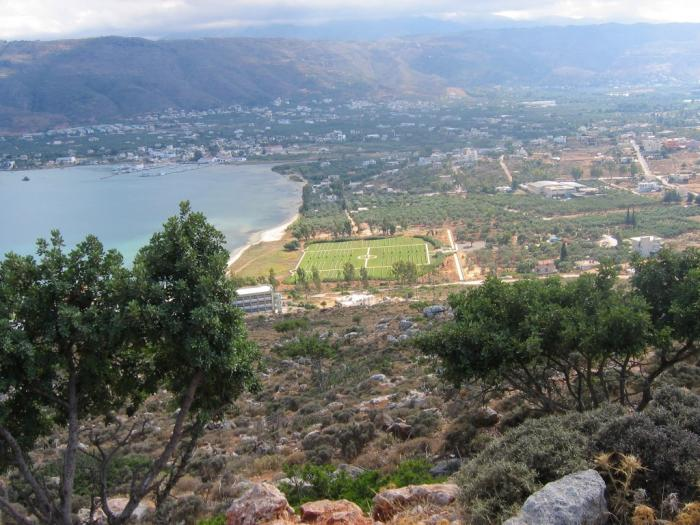 View from Akrotiri.