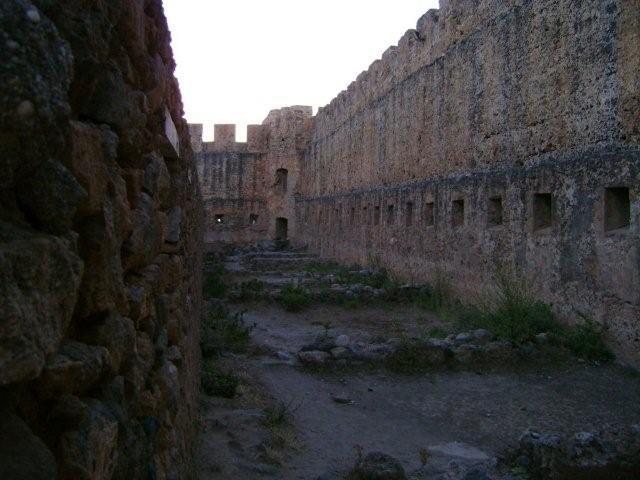 Spooky castle Frangokastelli