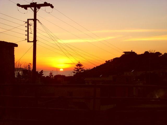 Sunset in Pitsidia