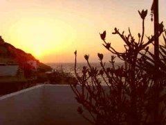 Sunset in Matala